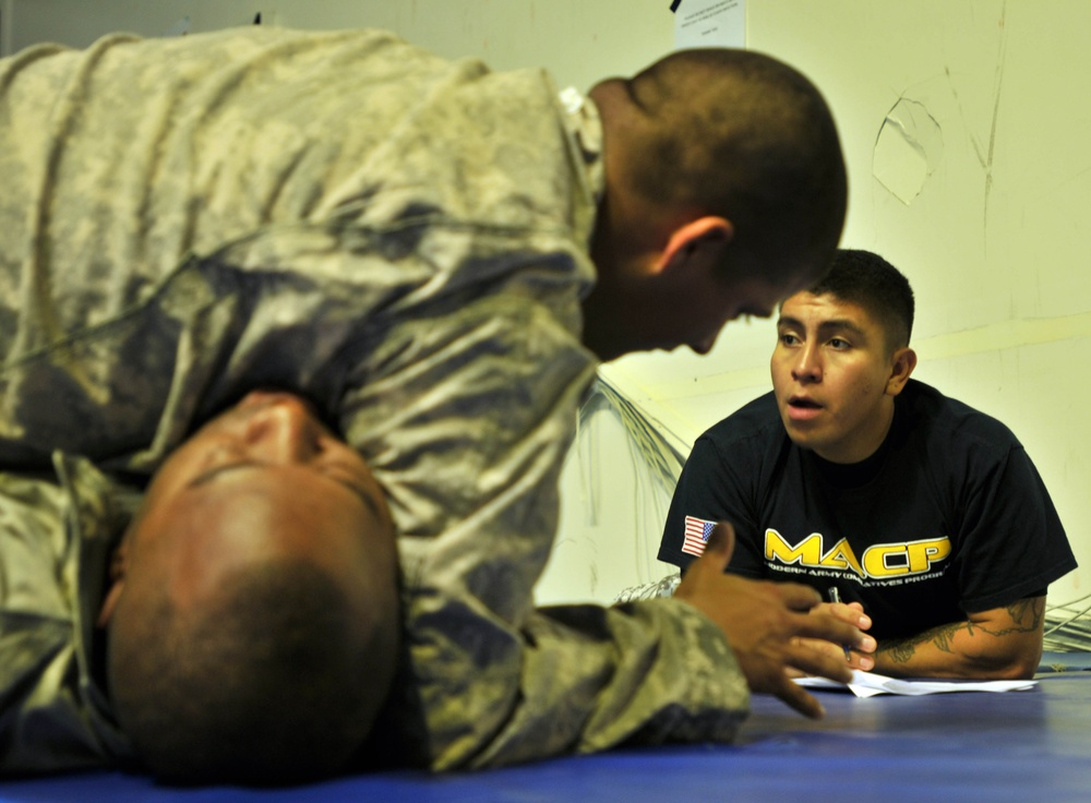 Taking combatives to the next level