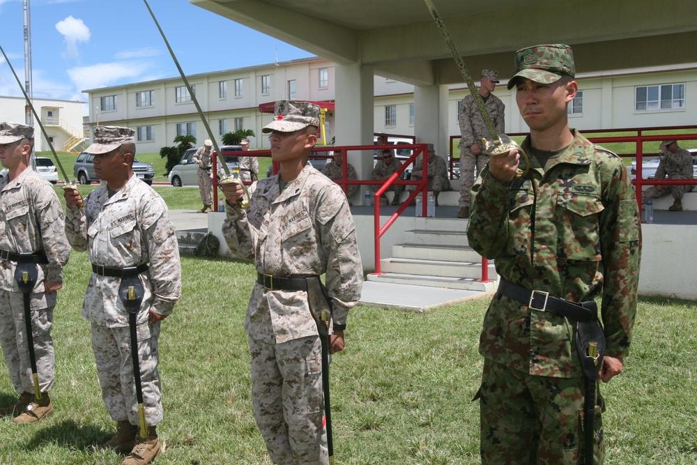 JGSDF members meet course challenges