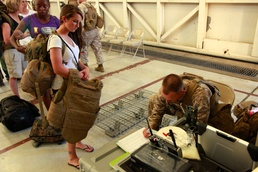 Air-ground task force trains to safely evacuate American citizens