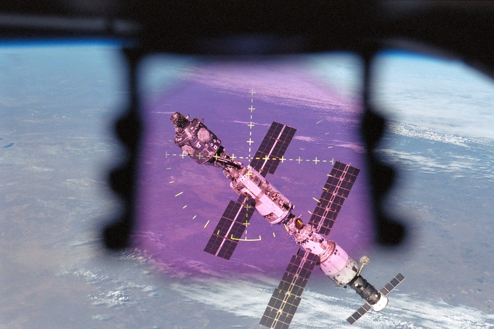 Flyaround views of the ISS taken from Atlantis during STS-106