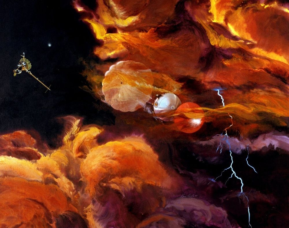 Galileo Probe Descent
