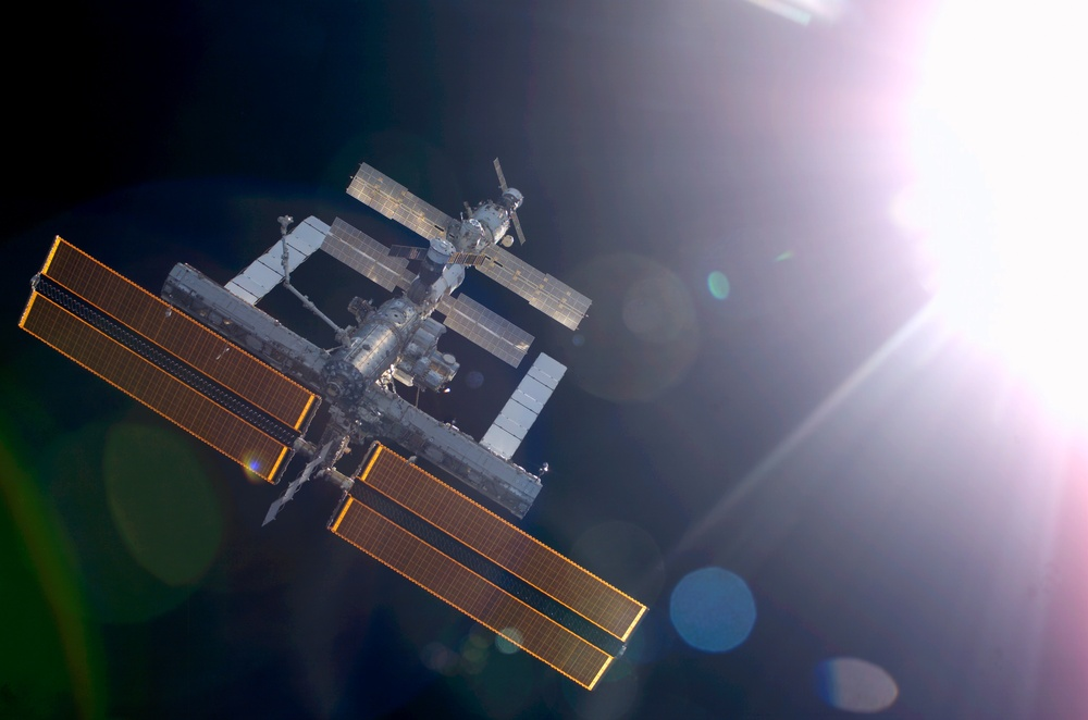 Survey of the ISS during flyaround