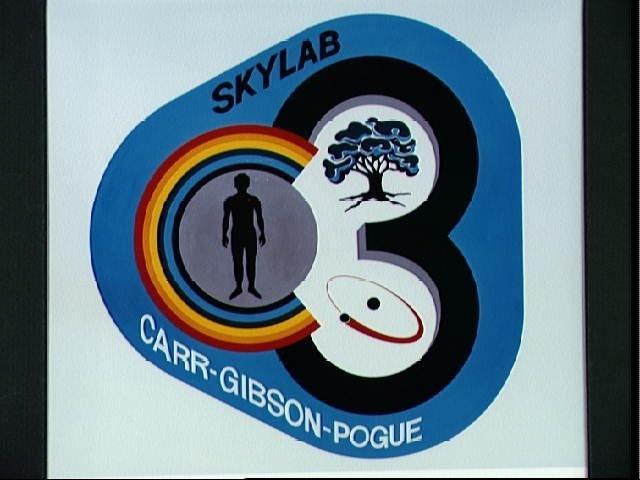 Emblem for the third manned Skylab mission - Skylab 4
