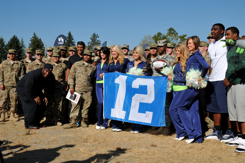 'Raiders', 12th man for Seahawks
