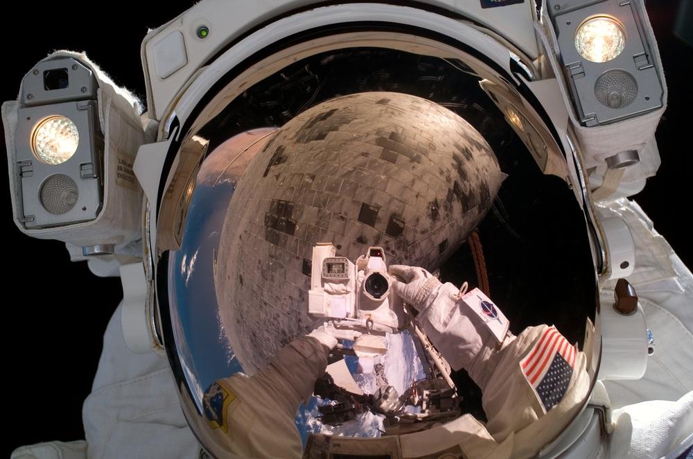 Robinson during EVA 3