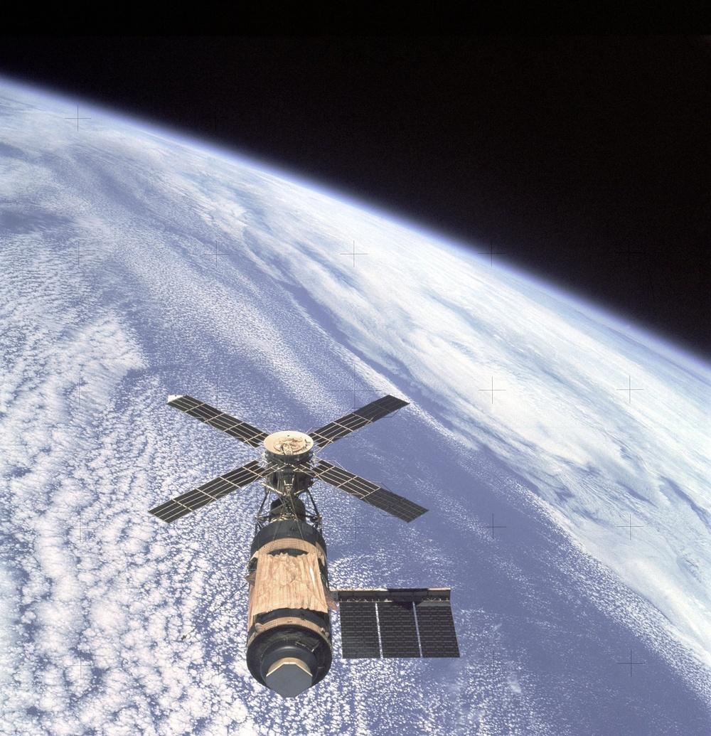 Skylab and Earth Limb