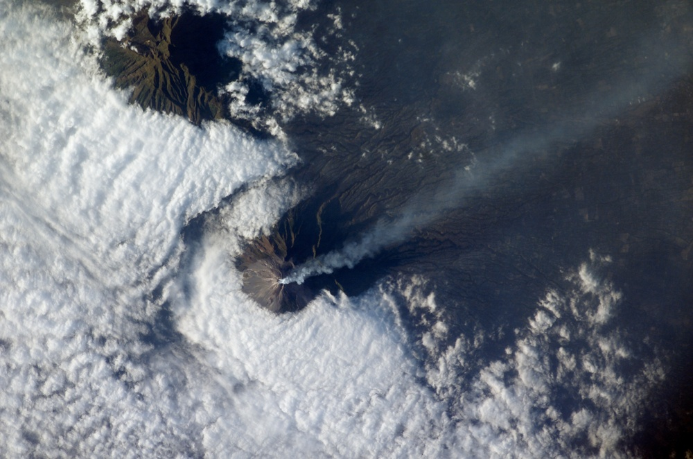 Merapi Volcano, Java: Image of the Day