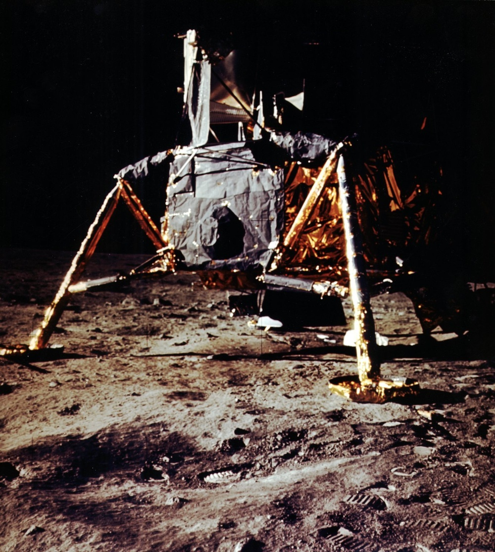 Lunar Module (LM) on Lunar Surface