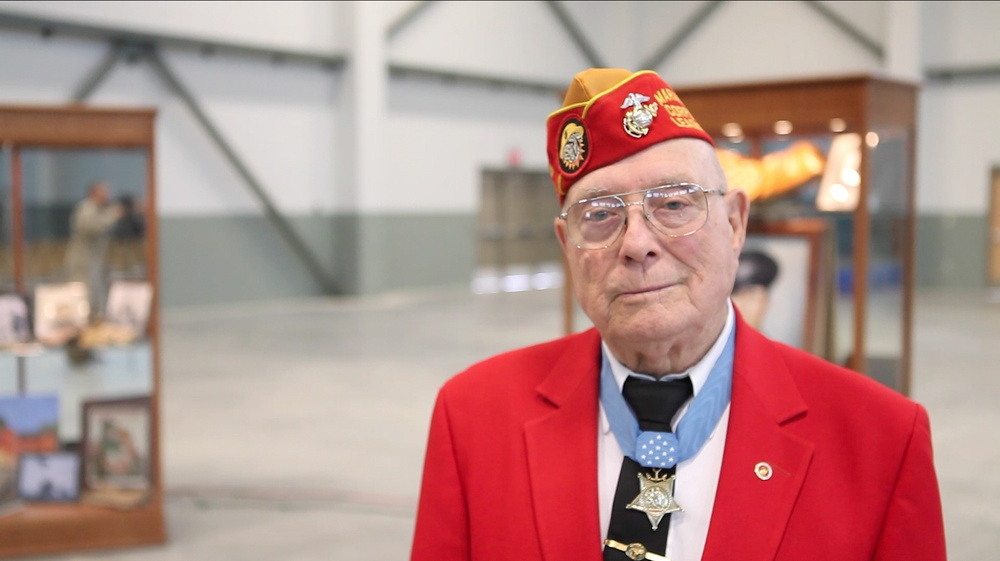 Reserve Marine recognized for contribution to country, community