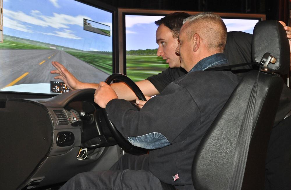 Simulators bring drunk driving to life