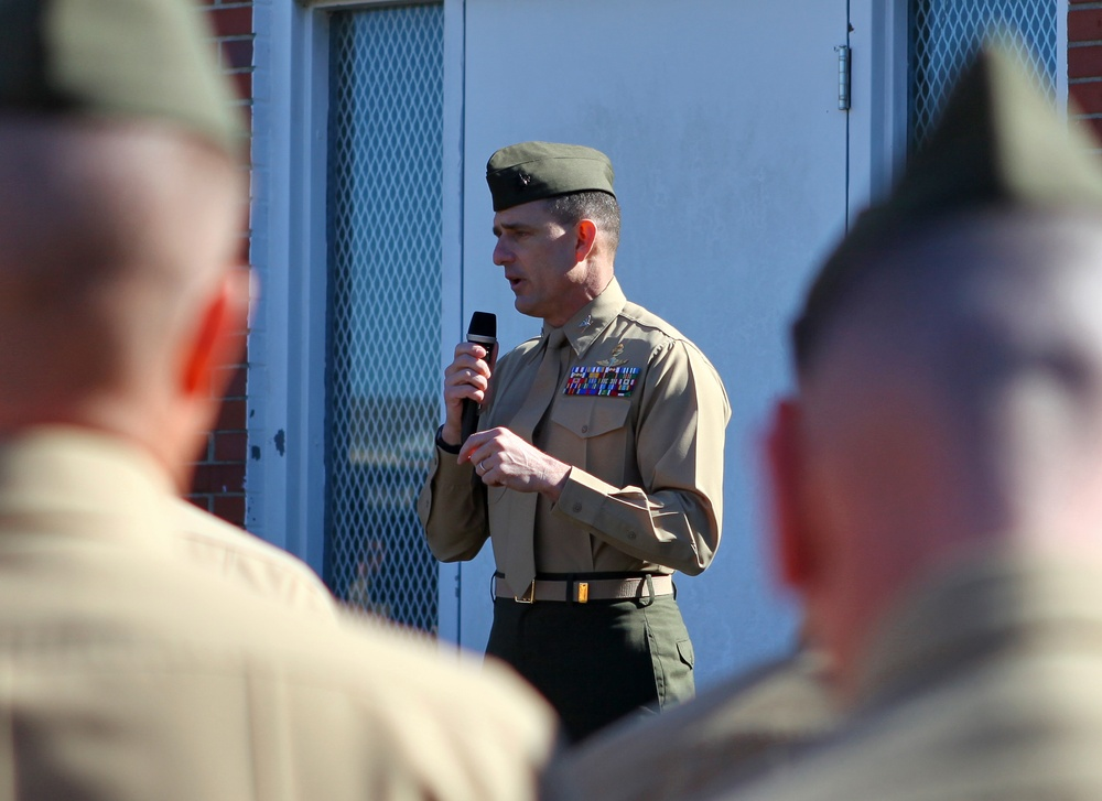 Marine crisis response force deactivates after extended deployment