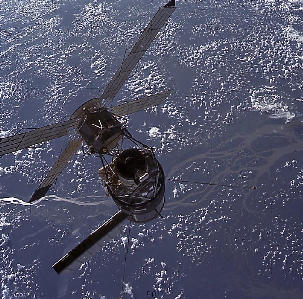 Skylab-3 Onboard Photograph - Skylab in Orbit
