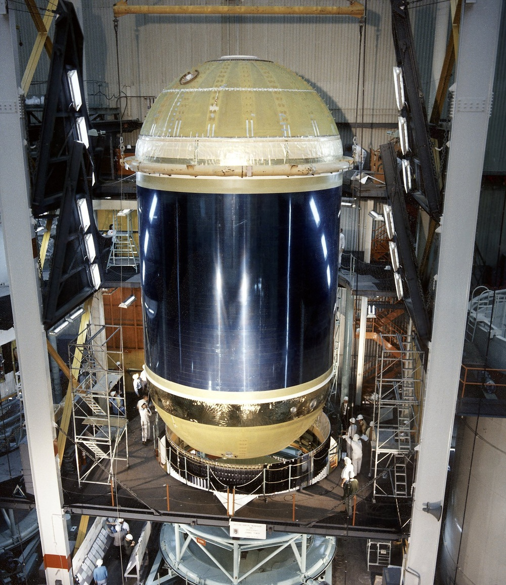Assembling the Skylab Cluster