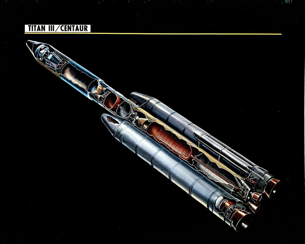 TITAN III CENTAUR  - ORIGINAL NEGATIVE IS FROM NASA HEADQUARTERS