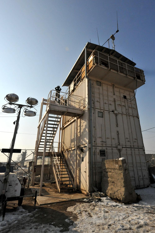 Tower defenders protect Bagram