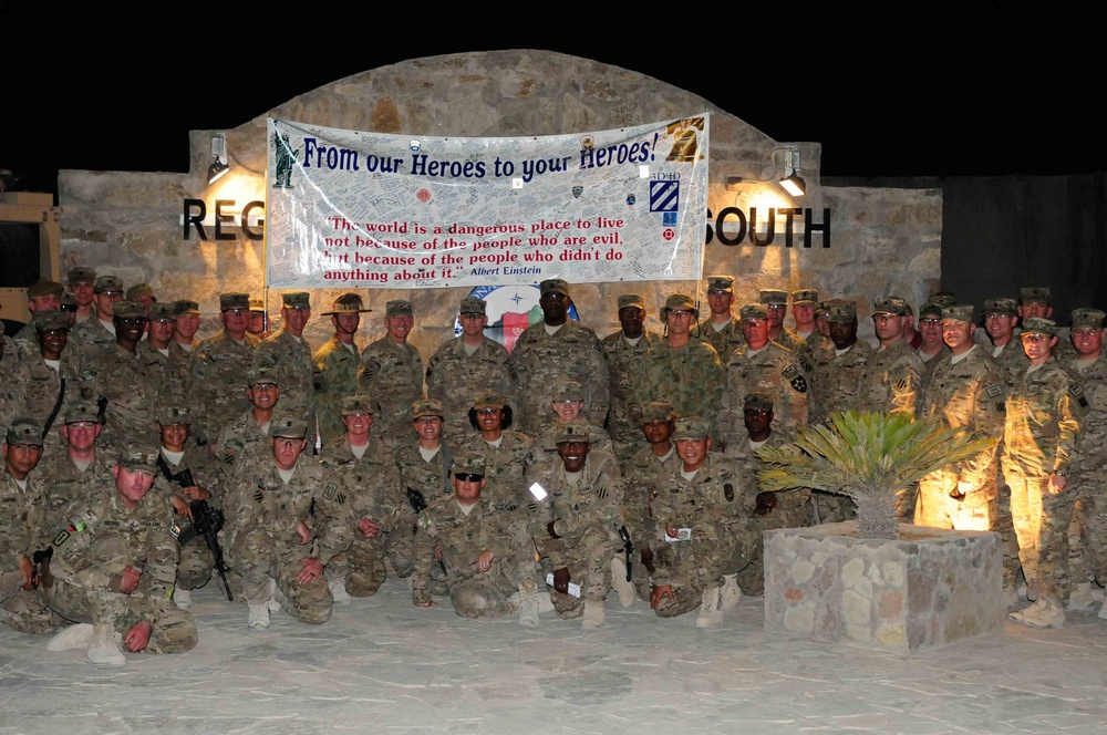 Army birthday celebration in RC (South)