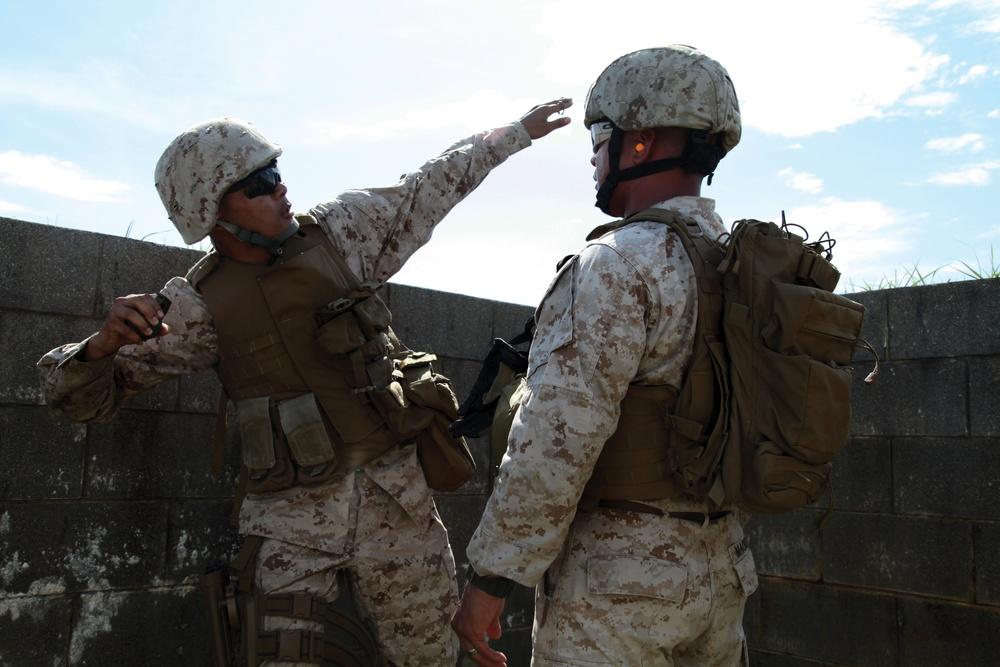 Marines bring firepower to explosive training