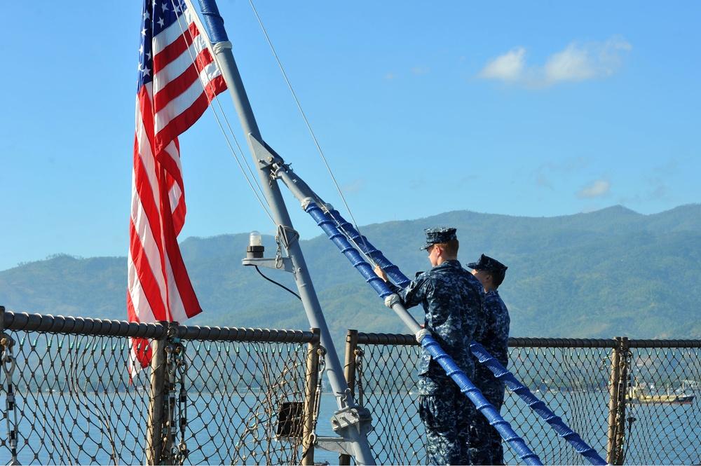 USS Blue Ridge operations