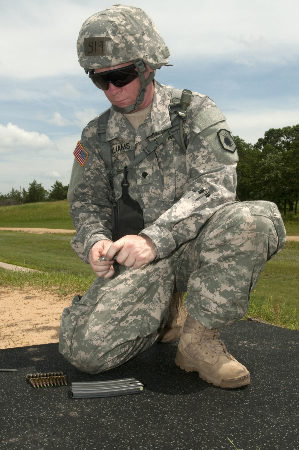 2013 Army Reserve Best Warrior- Reservist stays Army strong while competing for Best Warrior