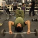 U.S. Marines maintain their physical fitness on Leatherneck