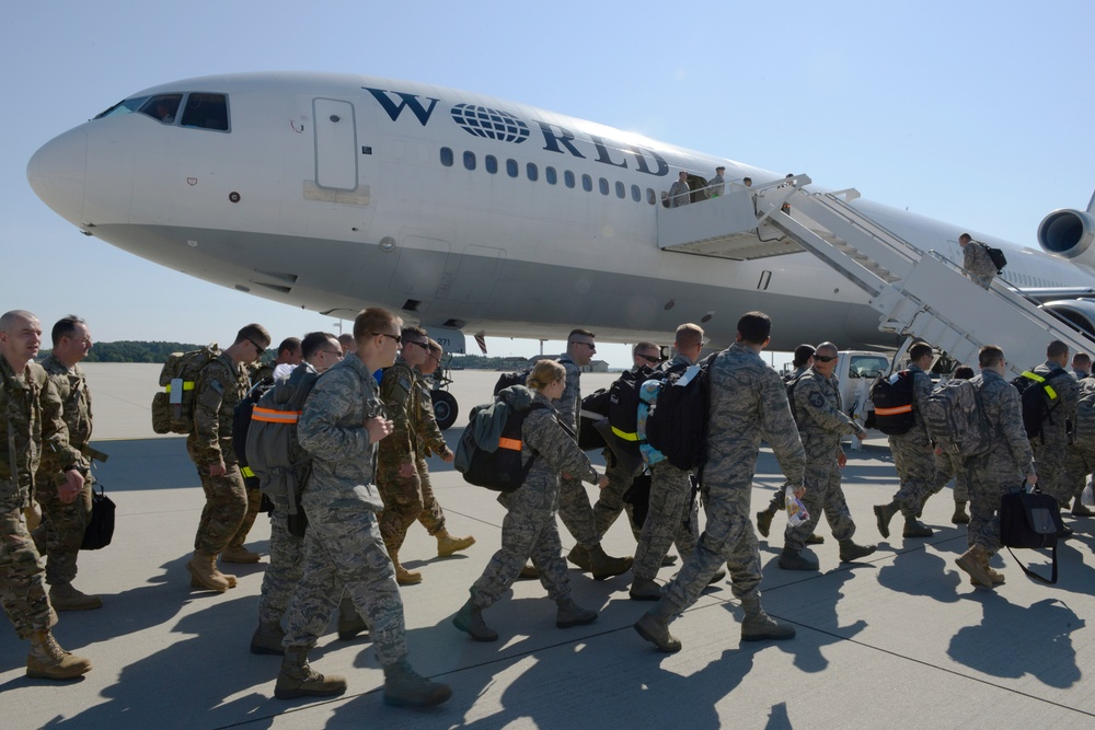 Knowledge and experience passed on to 606th deployers