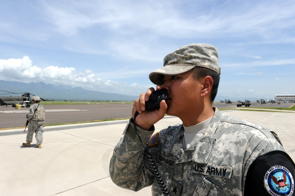 JTF-Bravo partners with Honduras military for joint-base exercise
