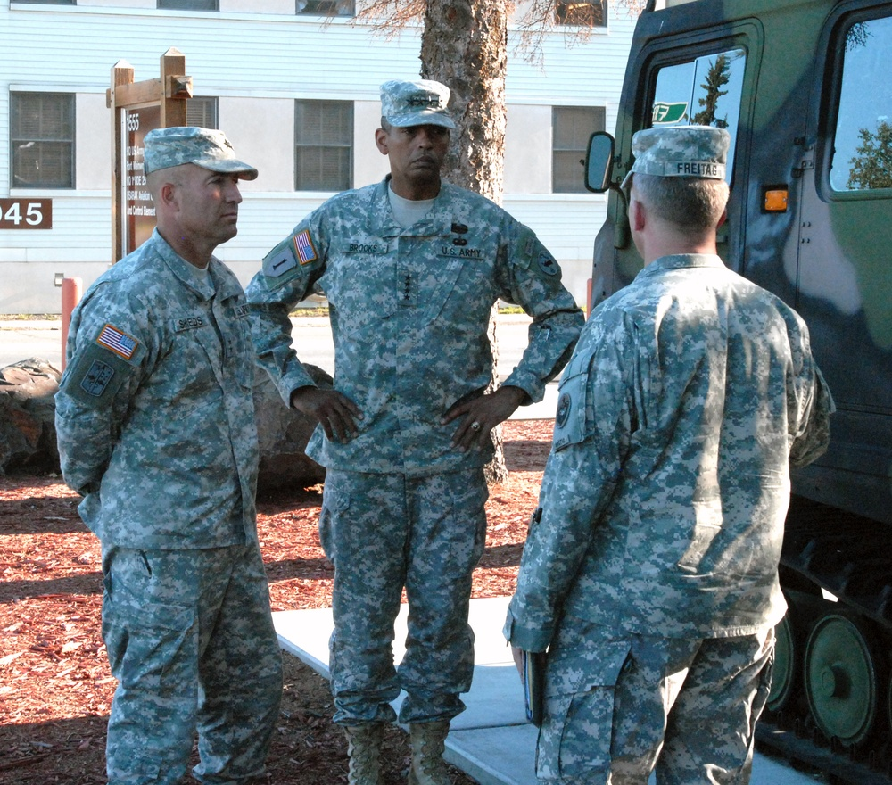 Commanding generals visit US Army's Arctic warriors