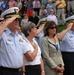 Senior USCG leaders at memorial service