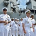 USS Fitzgerald arrives in northern Japan