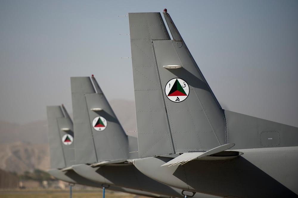 Afghan air force milestone