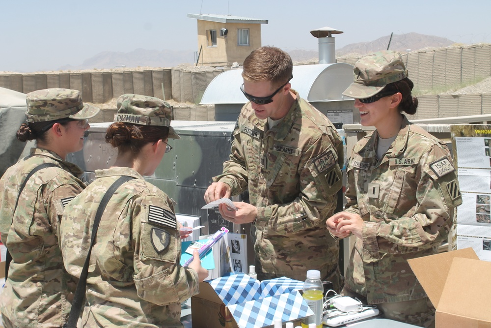 Service members attend health fair to improve readiness