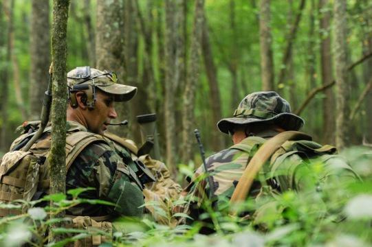 Among the guerrillas: NC Green Berets give local cadets a tactical advantage