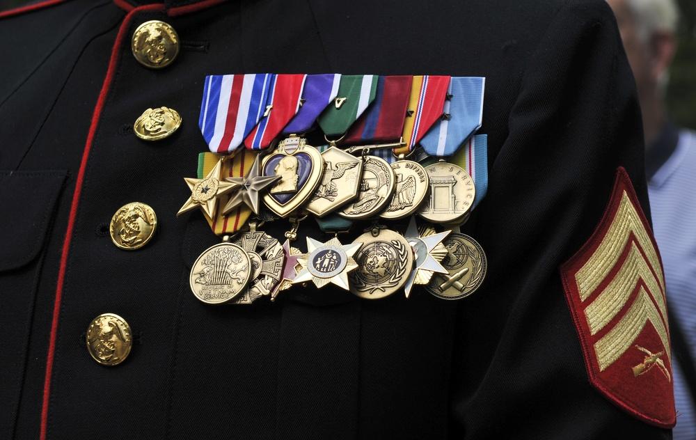 Staff Sergeant Reckless Monument Dedication