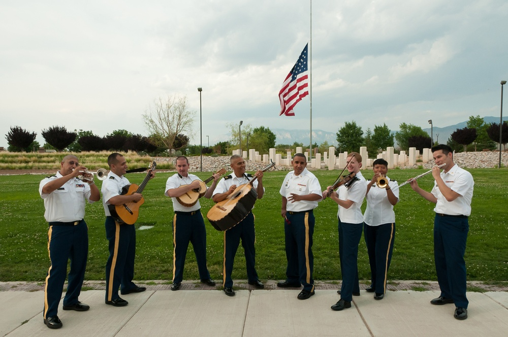 Mariachi Nuevo Mexico a big hit for the 44th Army Band