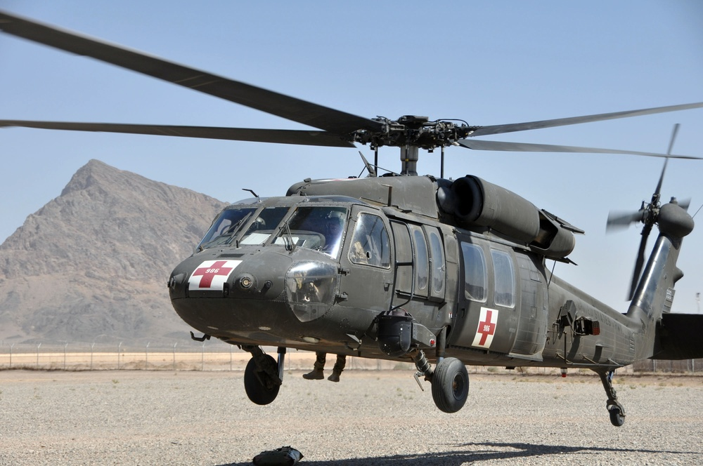 Helicopter hoist training