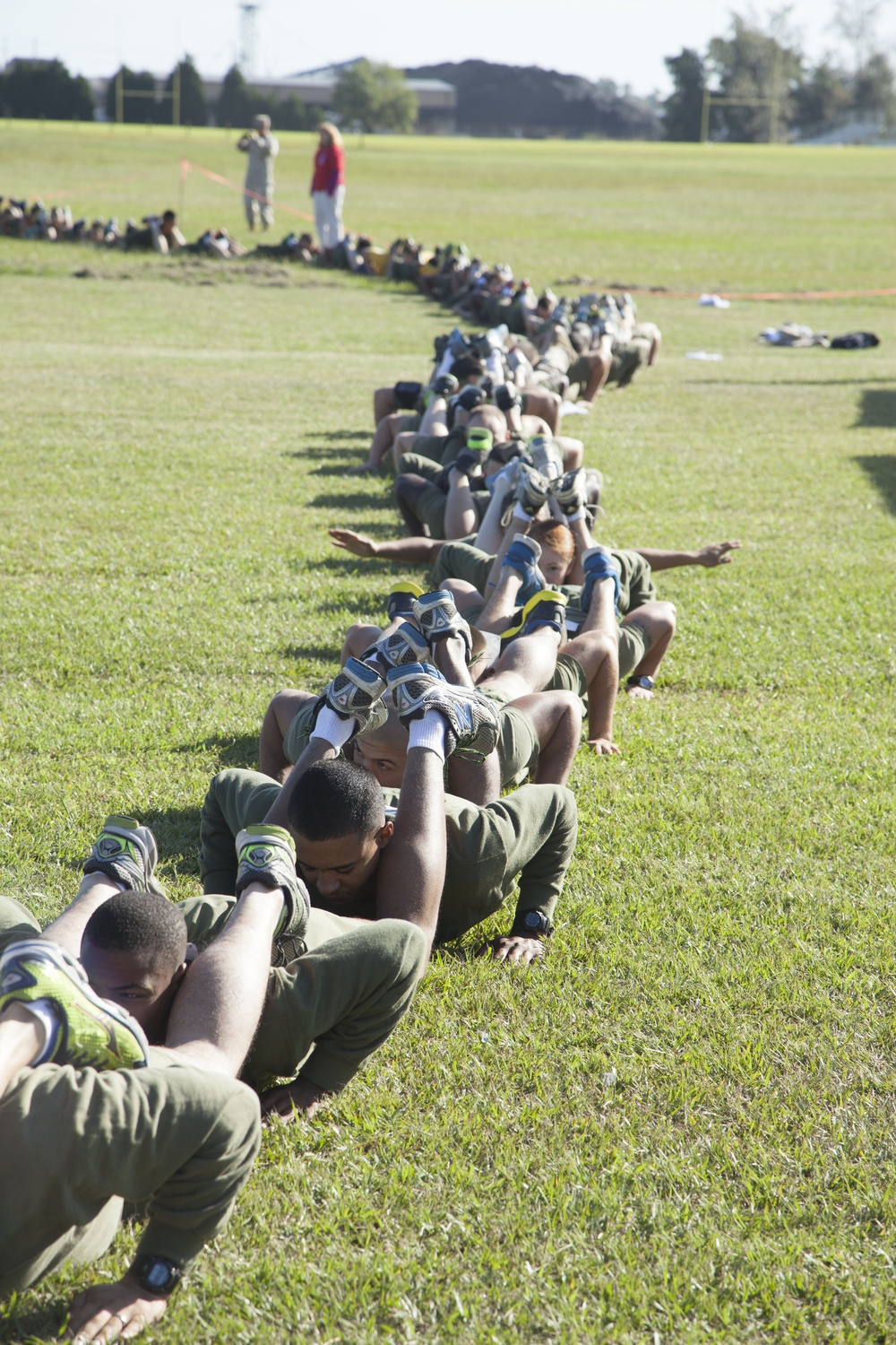 Marines, sailors attempt to set Guinness world record