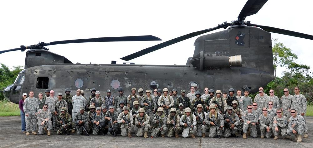 Joint Task Force-Bravo supports marijuana eradication operation in Belize