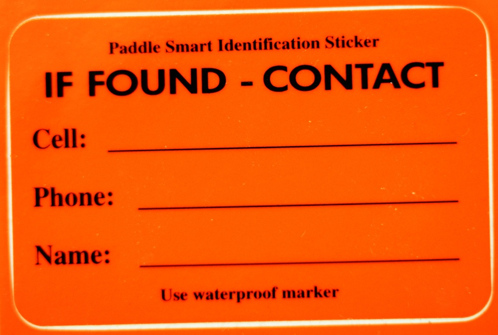 Paddle Smart decals can save lives, taxpayer dollars