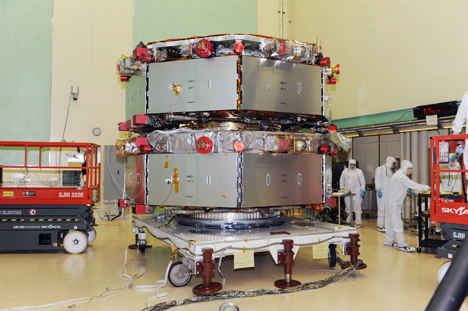 NASA satellite saved from destruction by Navy firefighters
