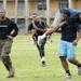 Marines train Southern University Football Players