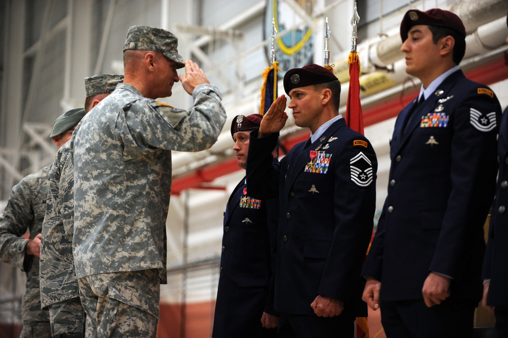 Six 106th Rescue Wing airmen receive Bronze Star for Valor
