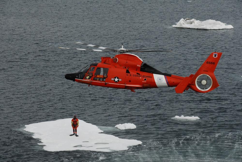 Coast Guard Arctic Exercise