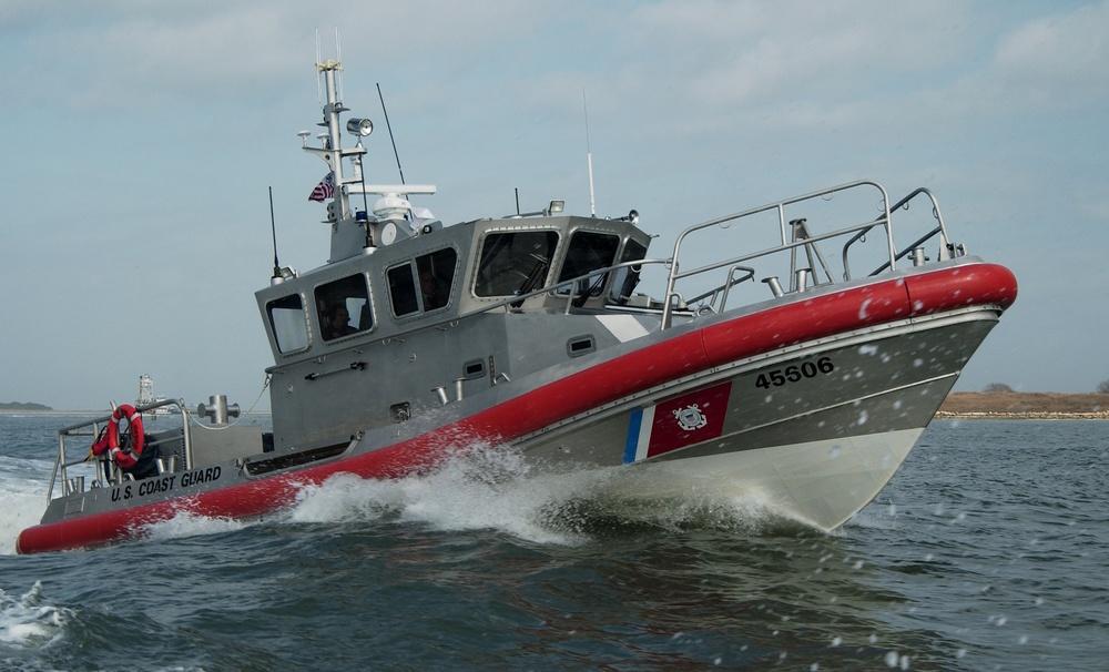 45-foot response boat-medium training