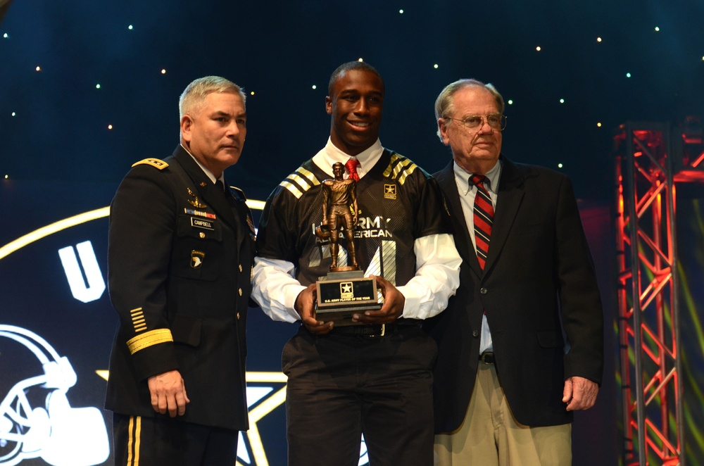 Honoring the 2014 US Army Player of the Year