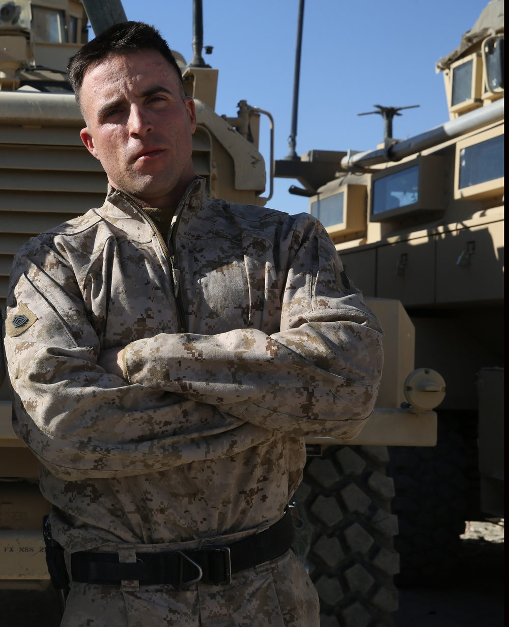 Marine's leadership helps earn combat meritorious promotion