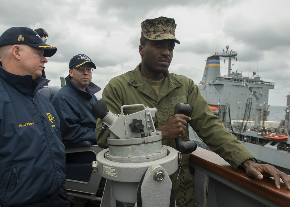 USS Donald Cook operations