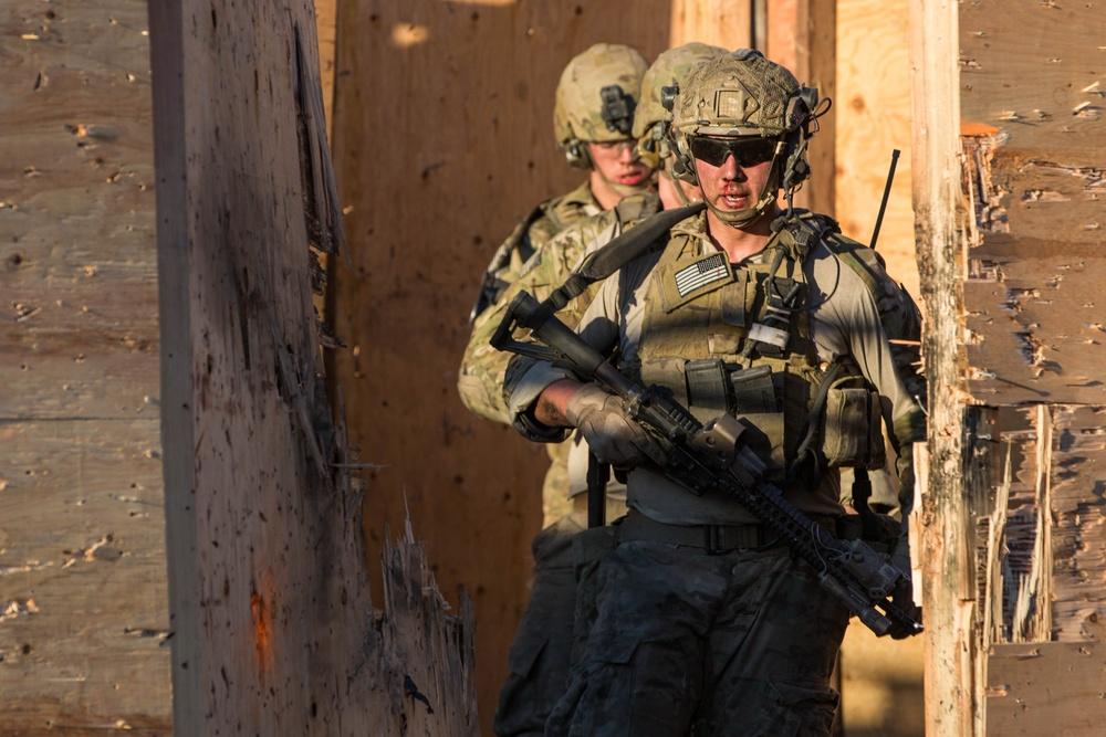 75th Ranger Regiment task force training