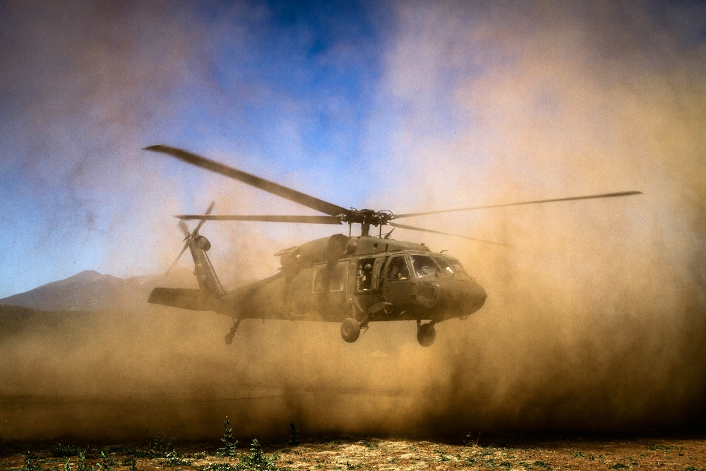 Black Hawk takes off