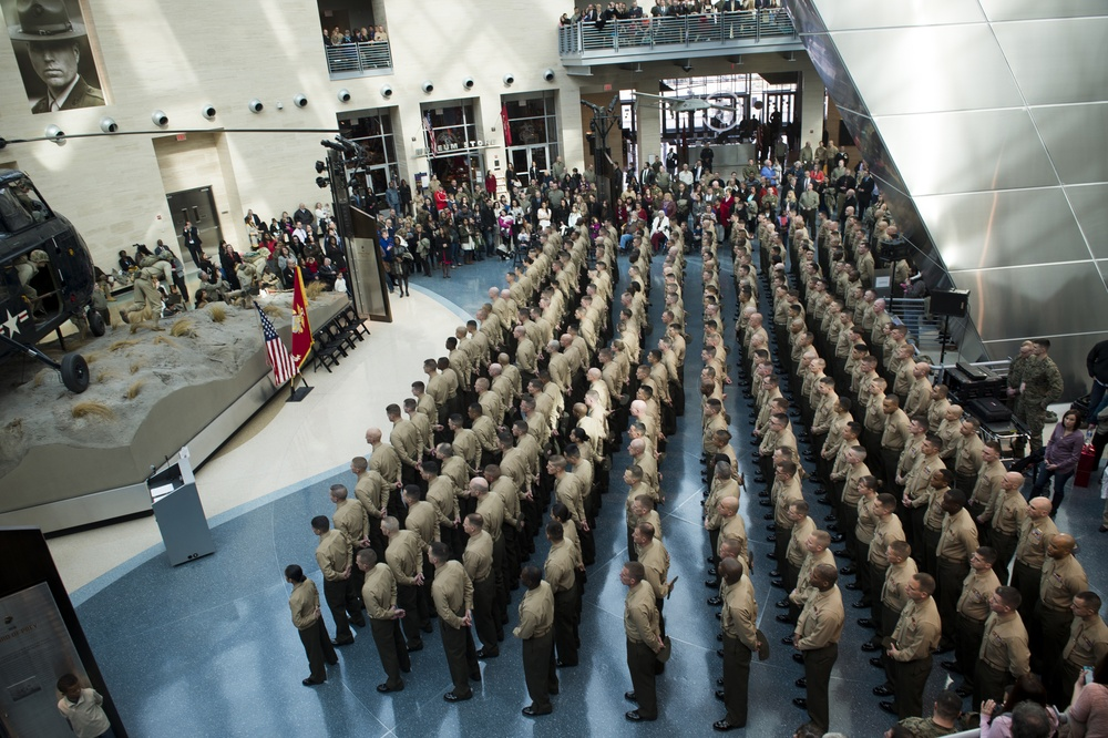 TBS India Company Swearing-In Ceremony