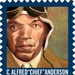 Chief Anderson 2-ounce USPS postage stamp